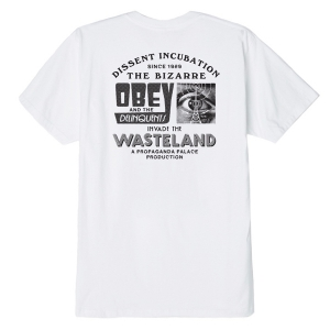 OBEY / OBEY WASTELAND BASIC TEE (WHITE)