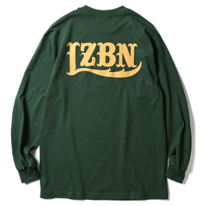 LZBN / LZBN BACK LOGO L/S TEE (FOREST GREEN)