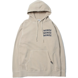 MINOS / MMM PIGMENT DYED HOODED PULLOVER PARKA (SAND)