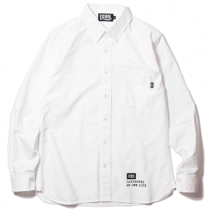 LZBN / TYPE L/S SHIRT (WHITE)