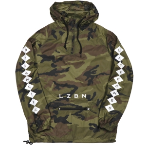 LZBN / DIAMONDS ANORAK JACKET (CAMO)