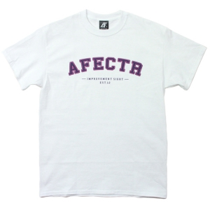 AFFECTER / NEW SCHOOL S/S TEE (WHITE)