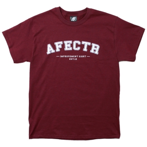 AFFECTER / NEW SCHOOL S/S TEE (WINE)