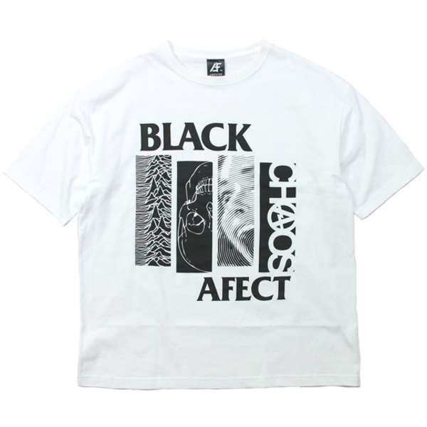 AFFECTER / BLACK AFF BIG TEE (WHITE)