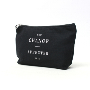 AFFECTER / CHANGE POUCH (BLACK)
