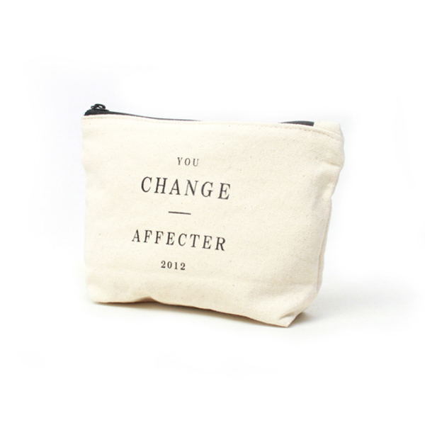 AFFECTER / CHANGE POUCH (NATURAL)
