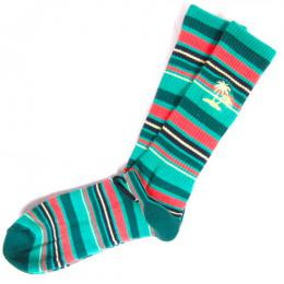 VANS / STRIPER CREW SOCKS (BALTIC)