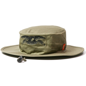 ANTIHERO / BASIC EAGLE BOONIE HAT (OLIVE/BLACK)
