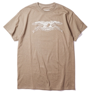 ANTIHERO / BASIC EAGLE TEE (COFFEE)