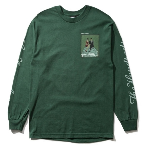 THE HUNDREDS / TOP OF THE WORLD L/S TEE (FOREST)