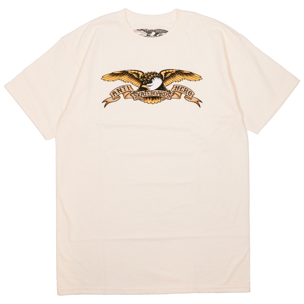 ANTIHERO / EAGLE TEE (CREAM)
