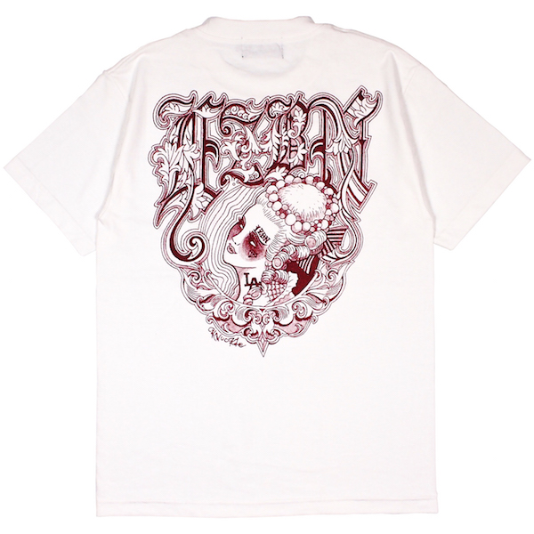 LZBN / KNUCKLE TEE (WHITE)