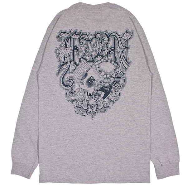 LZBN / KNUCKLE L/S TEE (H.GREY)