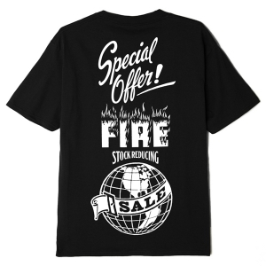 OBEY / FIRE SALE! SUSTAINABLE TEE (BLACK)