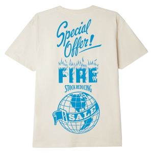 OBEY / FIRE SALE! SUSTAINABLE TEE (CREAM)