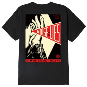 OBEY / GIMME SOME TRUTH CLASSIC TEE (BLACK)