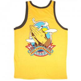 OBEY / HIGH AND MIGHTY RINGER TANK (HONEY GOLD/BROWN)