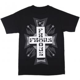 FAMOUS STARS AND STRAPS / TOWNS TEE (BLACK)