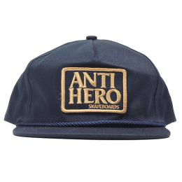 ANTI HERO /  RESERVE PATCH UNSTRUCTURED SNAPBACK CAP (NAVY)