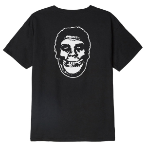 OBEY / OBEY X MISFITS FIEND CLUB BASIC TEE (BLACK)