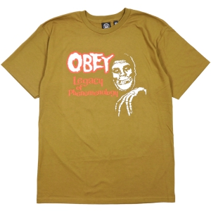 OBEY / OBEY X MISFITS LEGACY OF PHENOMENOLOGY BASIC TEE (TAPENADE)
