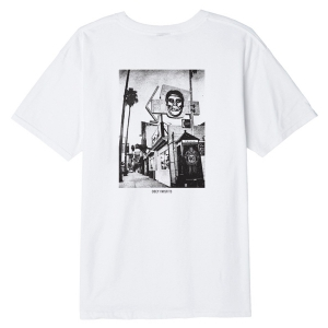 OBEY / OBEY X MISFITS DARK SUNSET BASIC TEE (WHITE)
