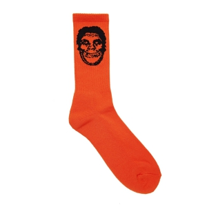 OBEY / OBEY X MISFITS SOCKS (ORANGE)