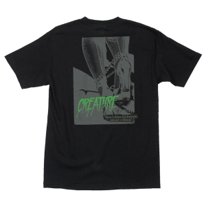 CREATURE / NOTHING TEE (BLACK)