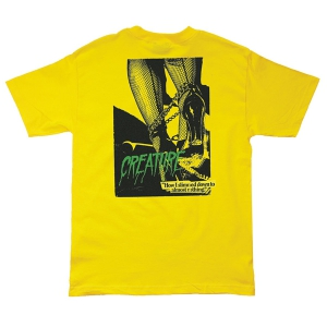 CREATURE / NOTHING TEE (YELLOW)