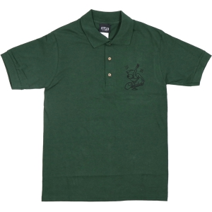 CREATURE / BOTTOMS UP POLO SHIRT (FOREST)