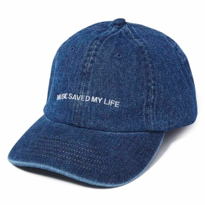 MSML / DENIM DAD CAP (INDIGO)