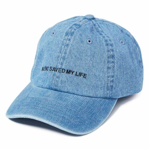 MSML / DENIM DAD CAP (L.BLUE)