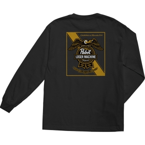 LOSER MACHINE / LMC X PBR ESTABLISHED II L/S TEE (BLACK)