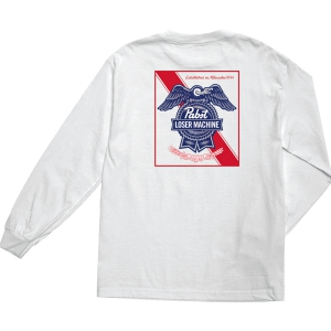 LOSER MACHINE / LMC X PBR ESTABLISHED II L/S TEE (WHITE)