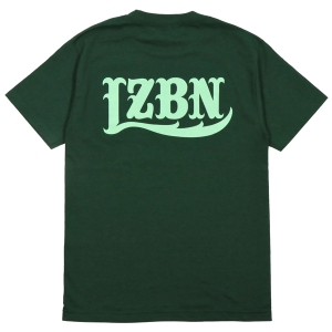 LZBN / LZBN BACK LOGO TEE (FOREST GREEN/MINT)