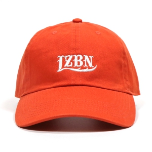 LZBN / EMB LOGO 6-PANEL CAP (ORANGE)