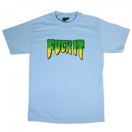 CREATURE / FUCK IT TEE (POWDER BLUE)