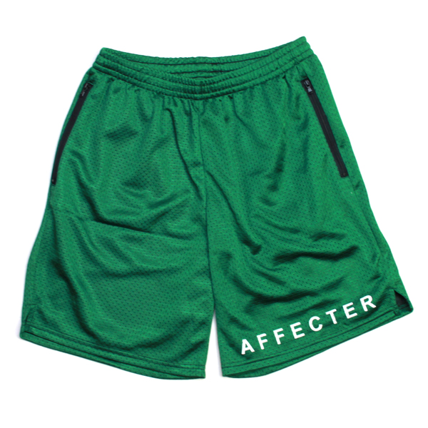 AFFECTER / BEFORE SHORTS (D-GREEN/WHITE)