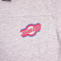SANTA CRUZ / RETURN S/S TEE (VINTAGE HEATHER)