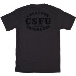 CREATURE / CLUB SUPPORT S/S TEE (BLACK)