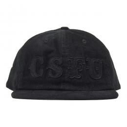 CREATURE / CSFU SUPPORT ADJUSTABLE SNAPBACK CAP (BLACK)