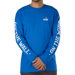 VANS / VANS X ANTIHERO ON THE WIRE L/S TEE (ROYAL BLUE)