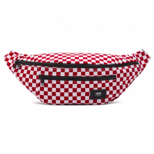 VANS / WARD CROSS BODY PACK (RED/WHITE CHECK)