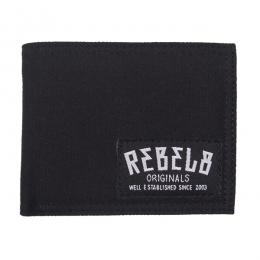 REBEL8 / STANDARD ISSUE CANVAS WALLET (BLACK)