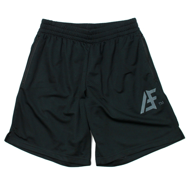 AFFECTER / AFF TM MESH SHORTS (BLACK/GREY)