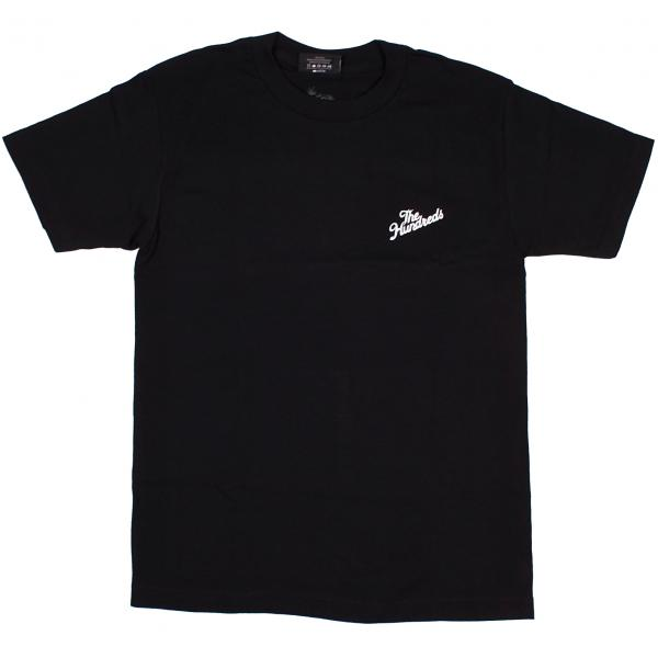 THE HUNDREDS / FOREVER SLANT CREST TEE (BLACK)
