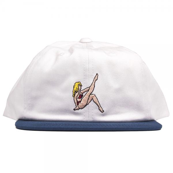 THE HUNDREDS / LOCALS SNAPBACK CAP (WHITE)
