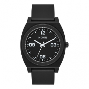 NIXON / THE TIME TELLER P CORP (MATTE BLACK/WHITE)