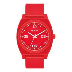 NIXON / THE TIME TELLER P CORP (MATTE RED/WHITE)