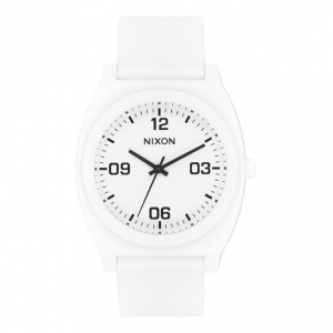 NIXON / THE TIME TELLER P CORP (MATTE WHITE/BLACK)